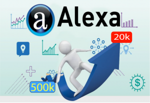 Provide you Alexa rank below Global 500k