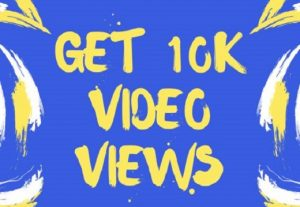 Get + 10000 Facebook Video Views FAST | Guaranteed | High-Quality | 10k