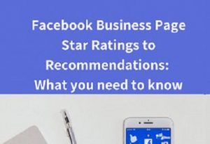 Add 100 Facebook star to recommendations on your business fan page