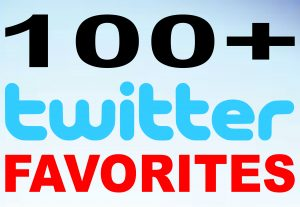 Add 100+ twitter favorites through Safe Promotion