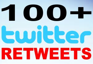 Add 100+ Twitter Retweets to increase your SEO social media