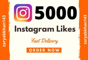 Add Instant 5000 Instagram Likes-Cheapest in the Market