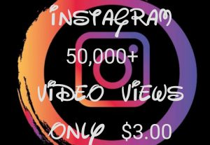 Promote your Instagram post  with 50000+ Views instantly at only $3.00