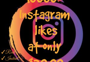 Promote your Instagram post with 10000+ likes at only $20
