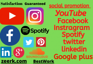 I Will Provide You Guaranteed 200+ YouTube Subscribers Or 250+ YouTube Likes Or 1000+ YouTube Views Or 250+ Instagram Followers Or 250+ Instagram likes Or 250+ Facebook Likes