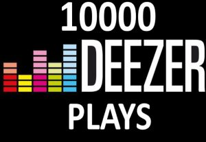 i will give you 1,000 deezer play
