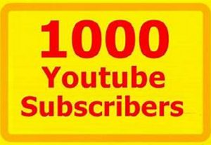 I WILL GIVE YOU 1000 YOU TUBE REAL SUBSCRIBERS