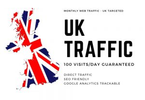 I will send 25,000 Website Traffic UK Targeted