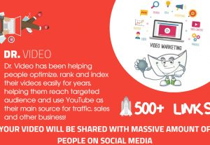 Youtube SEO – Get 500 Organically Built Links – Video Embeds, Social Signals, Backlink