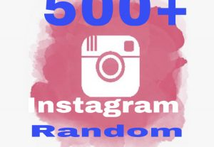 I will provide 500+ Instagram comments randomly & Instant !!!