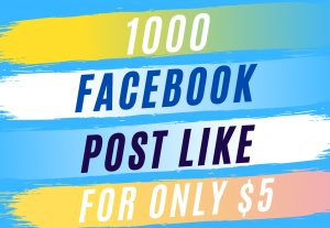1000 + Facebook Post Likes For Status – Photos – Videos