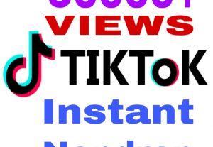 I will add 50000+ TikTok VIEWS instantly & genuine !!!