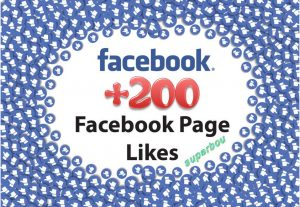 I well give you +200 facebook HQ fanpage likes