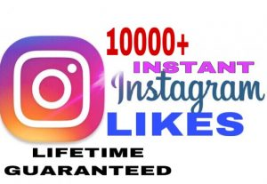 I will provide 10000+ Instagram likes instant & lifetime guaranteed