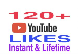 I will provide 120+ genuine youtube likes instantly !!!