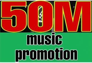 I will do 50 million  Spotify music promotion