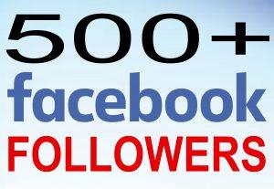 Add 500+ Real Genuine facebook followers