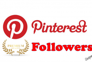 I will give you +1000 Real Pinterest Followers HQ Targeted
