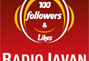 I will give you super 100 radiojavan Playlist followers OR 100 Likes