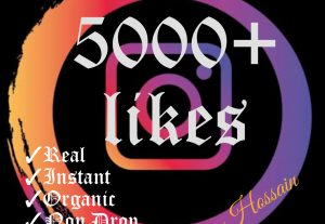 I will promote your post with 5000+ Instagram Likes with HQ,Real & Non drop Guaranteed.