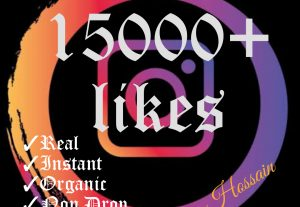 I will promote your Instagram post with 15000+ likes at instant.