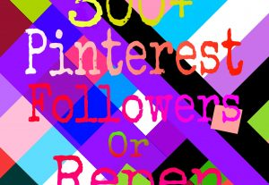 300+ naturally grow world pinterest promotion non drop with fast delivery for $3