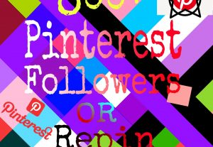 I will give you 800+ naturally grow world wide pinterest promotion fast delivery for $8