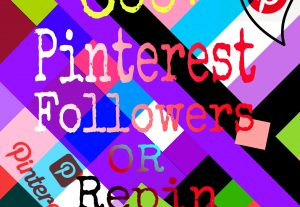 I will give you 600+ naturally grow world wide pinterest promotion fast delivery for $6