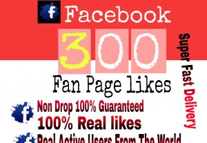 I will Promote 300+ Facebook Fan Page Likes for $3