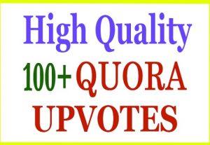 HQ 100+ Quora Upvote, Vote within Few Hours