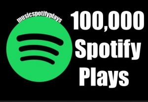 200,000 Real Spotify Plays Music Advertisement
