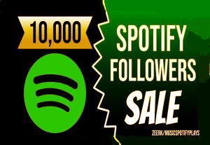10,000 Real Spotify Playlist Artist Or Followers