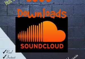 I will provide you 3000+ Downloads for your SoundCloud Tracks with Real, HQ and 100% Organic at Instant.