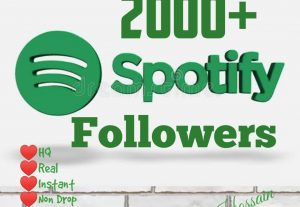 Get 2000+ Real Active Followers with HQ and Lifetime guarantee.