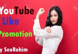 500+Organic YouTube Video Like Promotion  Marketing