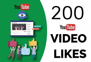 I will Add High Quality 200+ YOUTUBE video likes