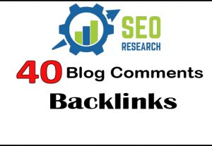 Get  40 Trust Flow Blog Comments Backlinks
