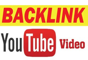 I will build 50 plus high-quality backlinks to your youtube video for SEO rankings