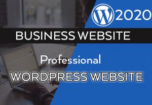 I will create custom WordPress website design for your business