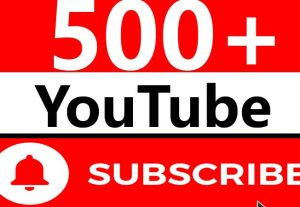 500+ REAL NON DROP MANUALLY YOUTUBE SUBSCRIBER QUICK JUST