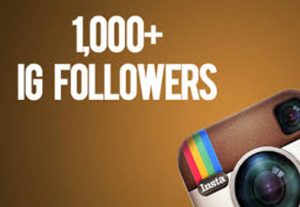 Get Instant 1000+ Instagram Followers (No Refill if Drop).