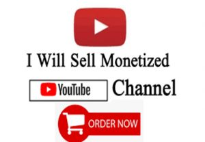 Old YouTube Monetized Channels For Sell | 100% Real