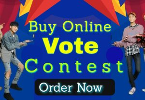Manually get you 300 Real online voting contest votes for $5