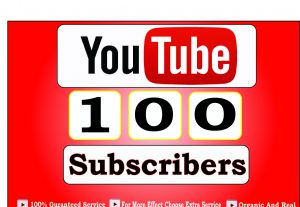 Get 100+ USA YouTube-Subscriber in your Channel, Non Drop, Real Active Users Guaranteed