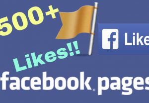 I will add 500+ Facebook Fan Page Likes !!! INSTANT !!!