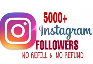 5000+ Followers added in your Instagram  Instantly
