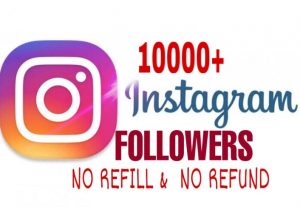 10000+ Followers added in your Instagram  Instantly
