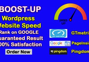 I will do wordpress speed optimization, improve load time and increase page speed