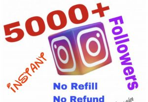 I will provide 5000+ Instagram Followers !!!