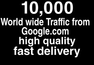 Would wide traffick from Google